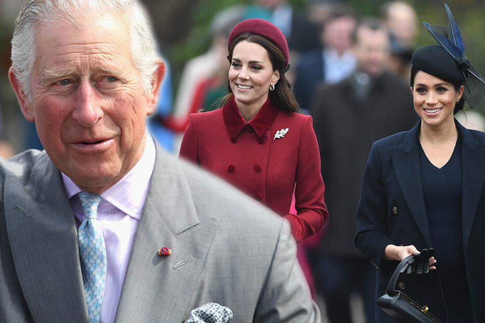 Meghan vs. Kate: Prinz Charles muss im Duell der Herzoginnen schlichten