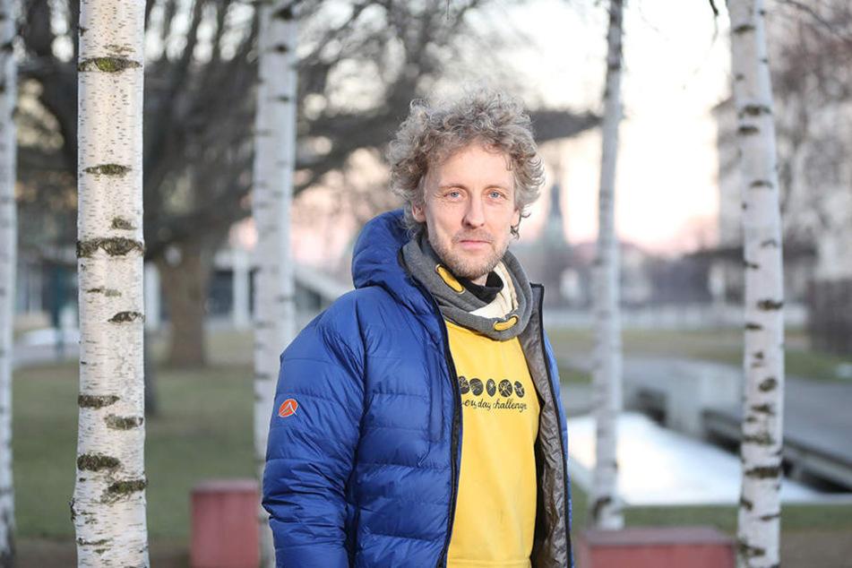 Stadtrat Torsten Schulze (47, Grüne)