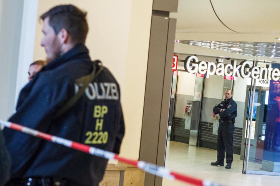 Die Polizei sicherte sich den Tatort weiträumig ab. (Symbolfoto)