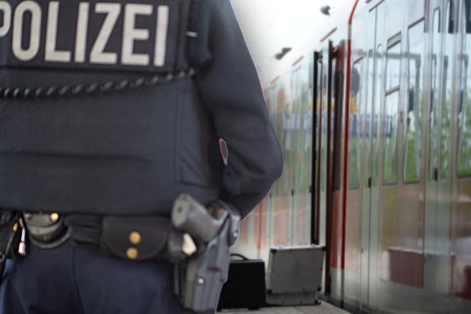 Voll auf Drogen: Spuckender Mann von Polizei aus S-Bahn getragen