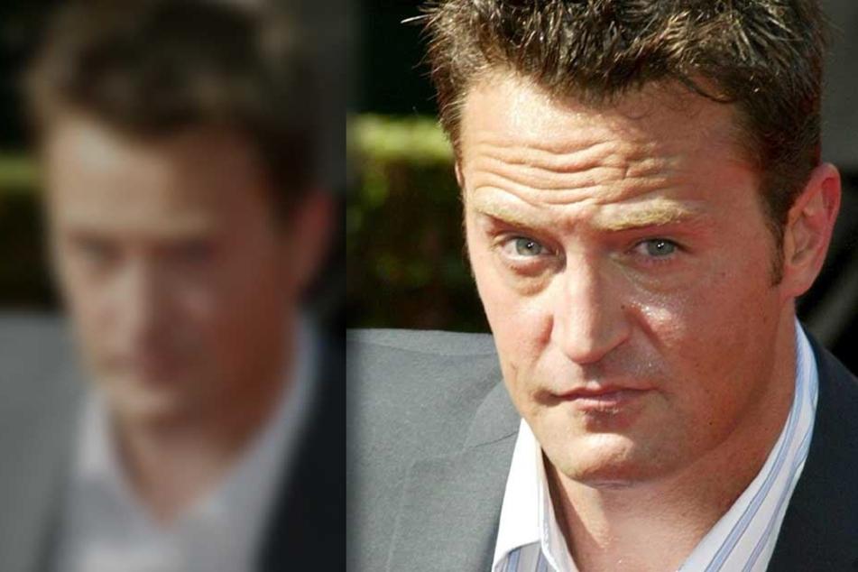 """Von 1994 bis 2004 spielte Matthew Perry an der Seite von Jennifer Aniston in der Serie """"Friends""""."""