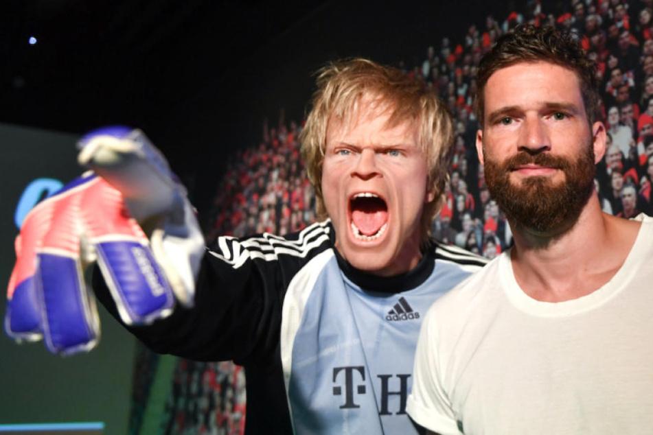 Ex-Kicker Olli Kahn und Arne Friedrich bei Madame Tussauds: Doch wer ist die Wachsfigur?