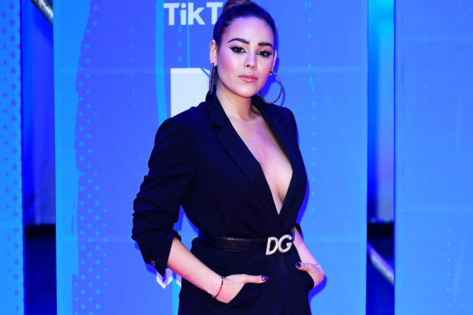 Die mexikanische Schauspielerin und Sängerin Danna Paola ging mit Neymar aus.