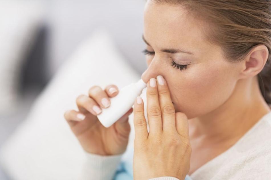 Die Frau litt an einer hartnäckigen Nasennebenhöhlenentzündung. (Symbolbild)