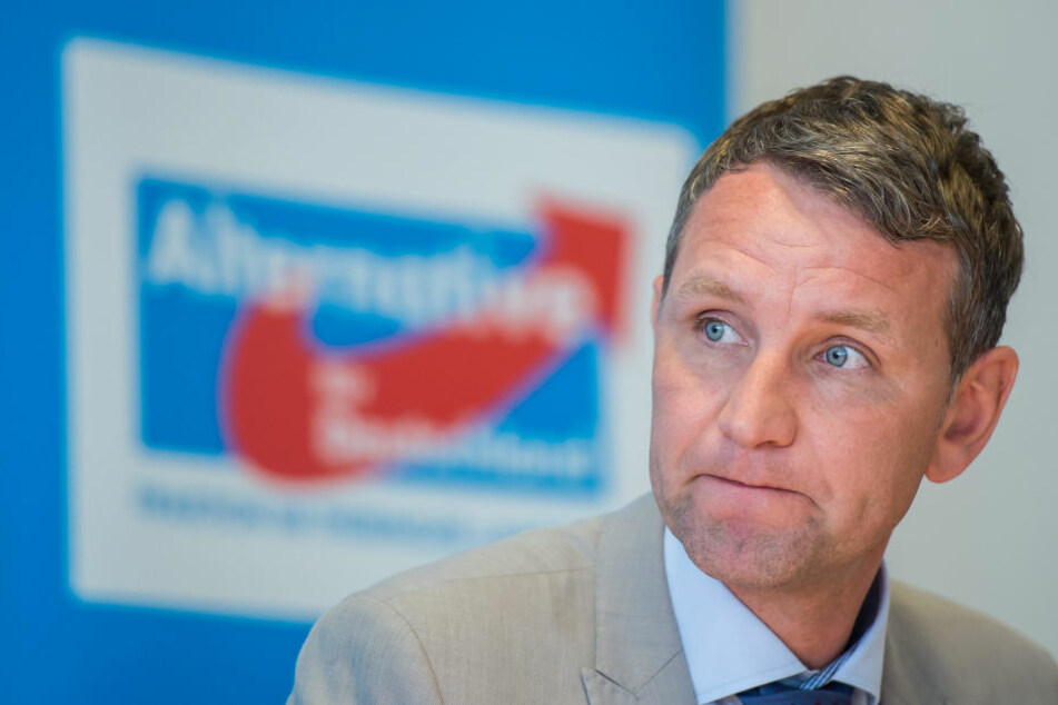 Der Fraktionsvorsitzende der AfD in Thüringen, Björn Höcke.