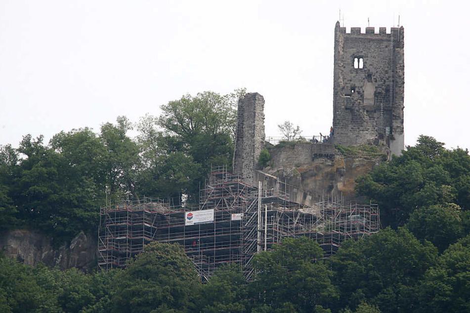 Nach Steinschlägen: Drachenfels bald wieder begehbar
