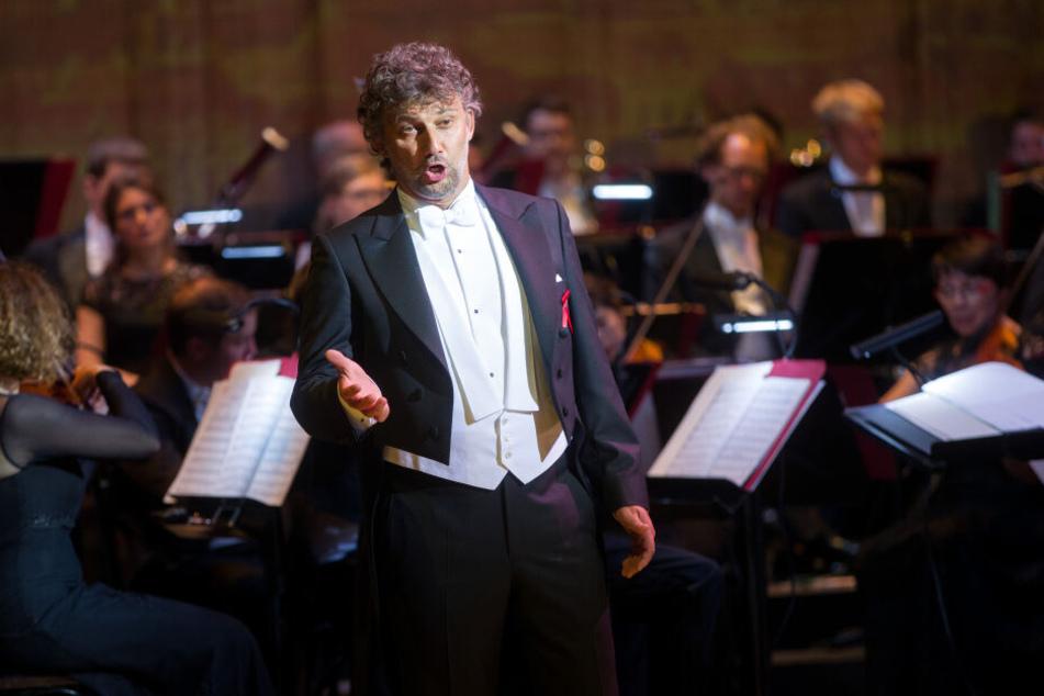 Opernsänger Jonas Kaufmann bei einem Auftritt.