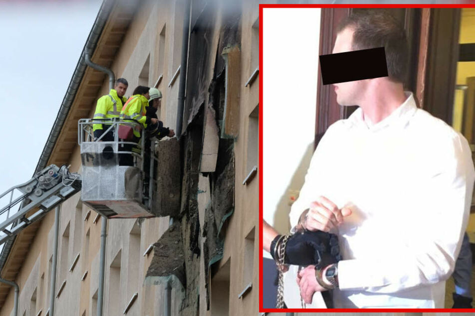 Leipziger Plattenbau-Zündler soll lebenslang ins Gefängnis