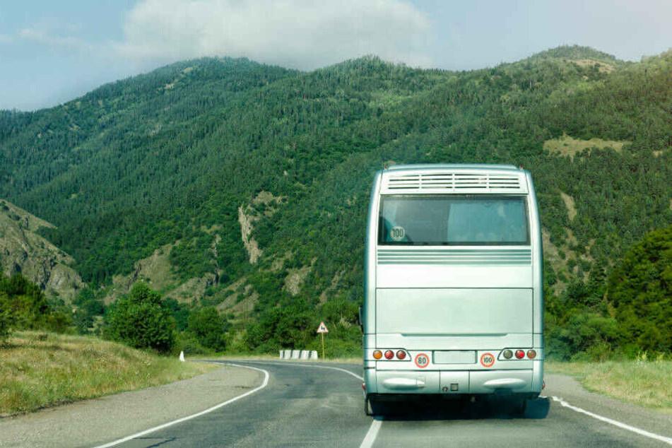 Der Weg ist das Ziel: Bei einer Reise im Bus gibt es viel zu sehen.