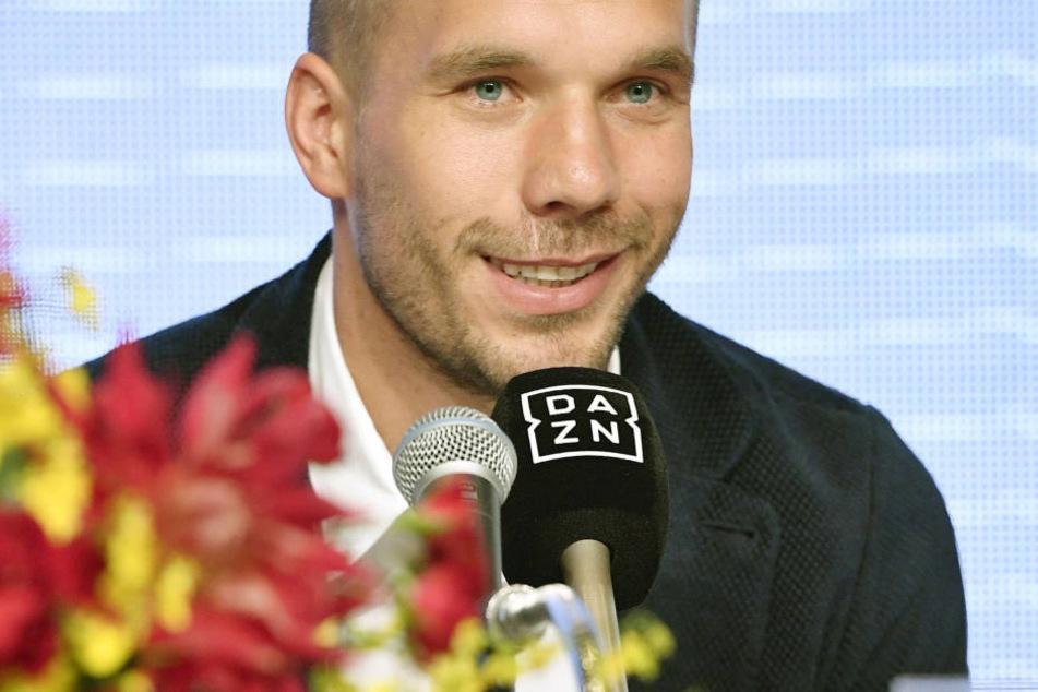 Lukas Podolski spielte in der Türkei und aktuell in Japan.