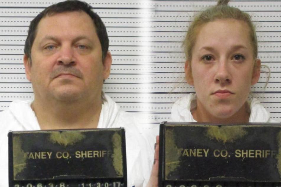 Aubrey Trail (l.) und Bailey Boswell (r.) müssen sich vor Gericht verantworten.