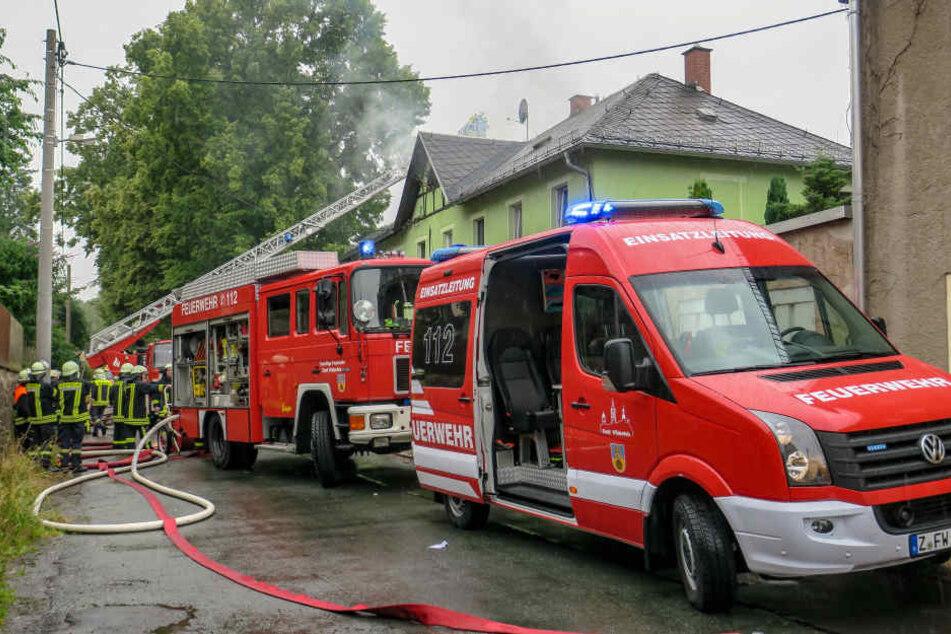 Mehrfamilienhaus nach Dachstuhl-Brand unbewohnbar