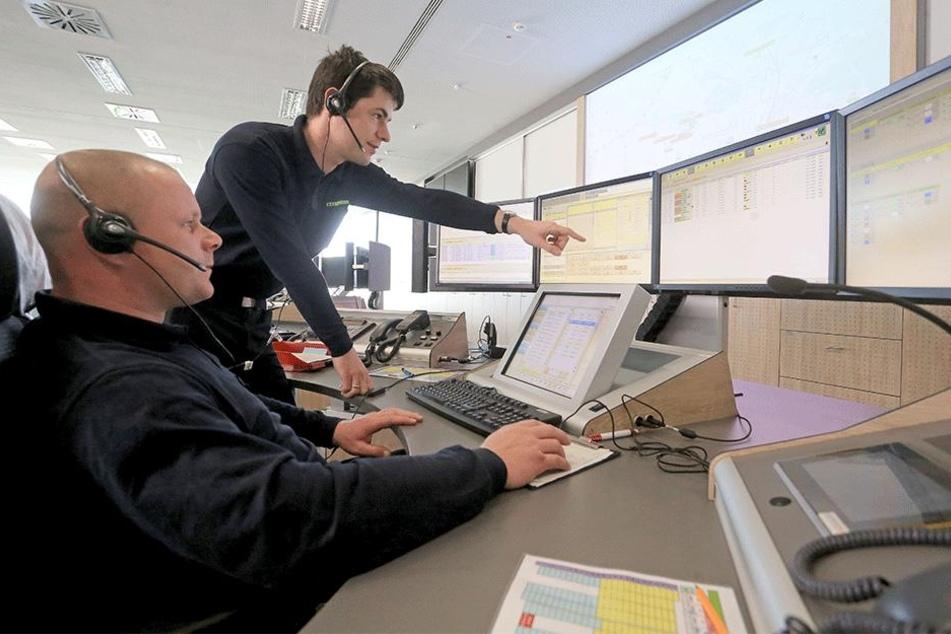 Chemnitz empfängt Notrufe aus dem Erzgebirge