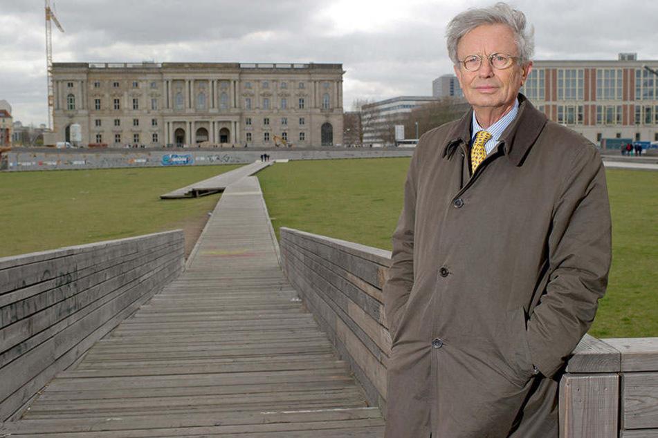 Ist ob der Umfrage skeptisch: Wilhelm von Boddien, Geschäftsführer des Fördervereins Berliner Schloss.