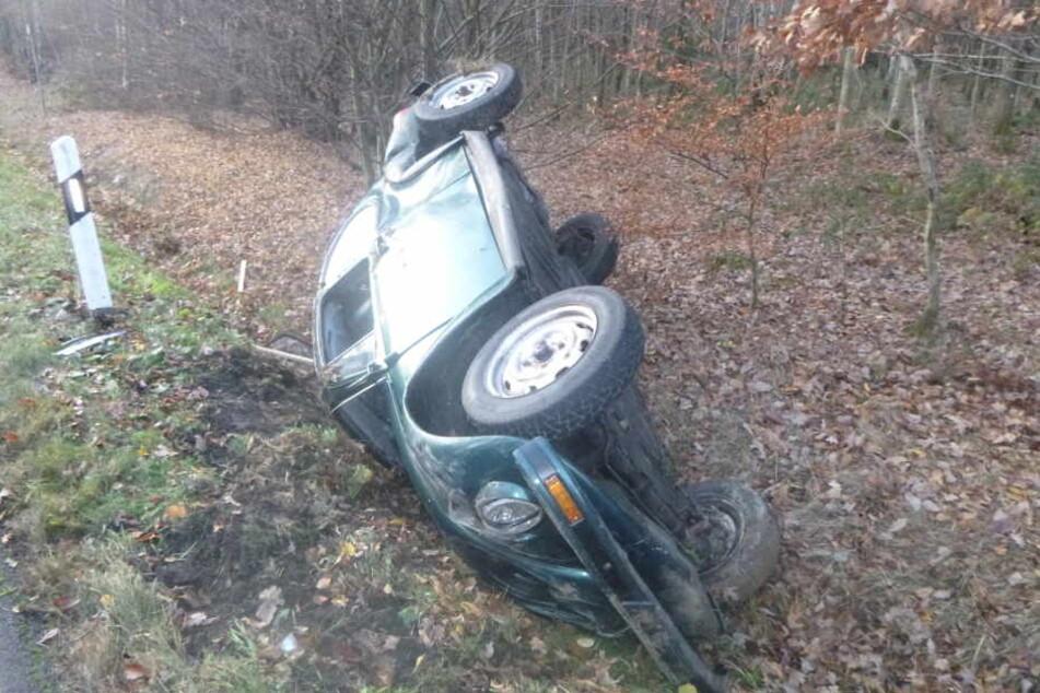 Der 20-Jährige wurde leicht verletzt.