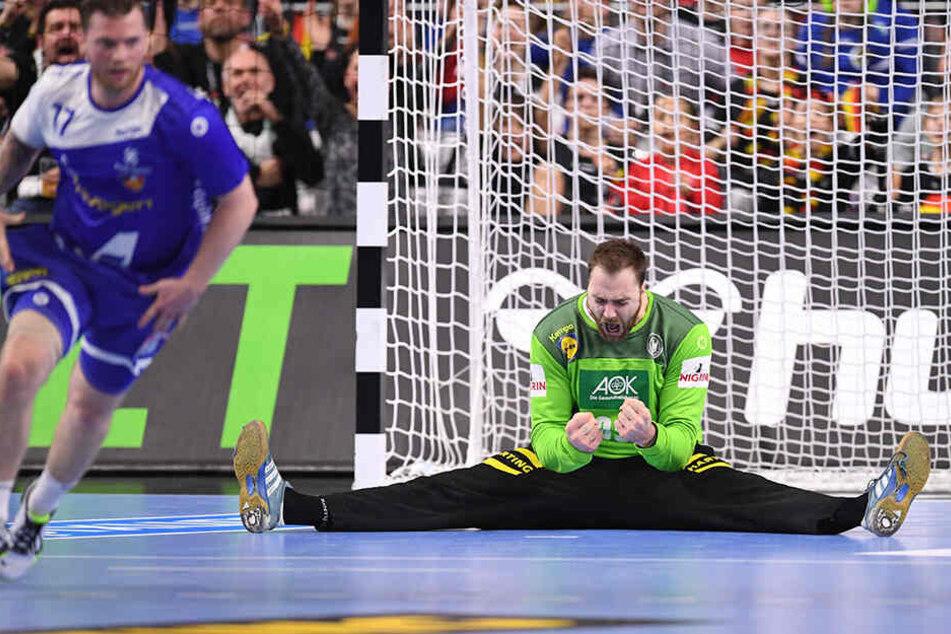 Wenn es eng wurde, konnte sich die deutsche Handball-Nationalmannschaft vor allem auf Torwart Andreas Wolff verlassen.