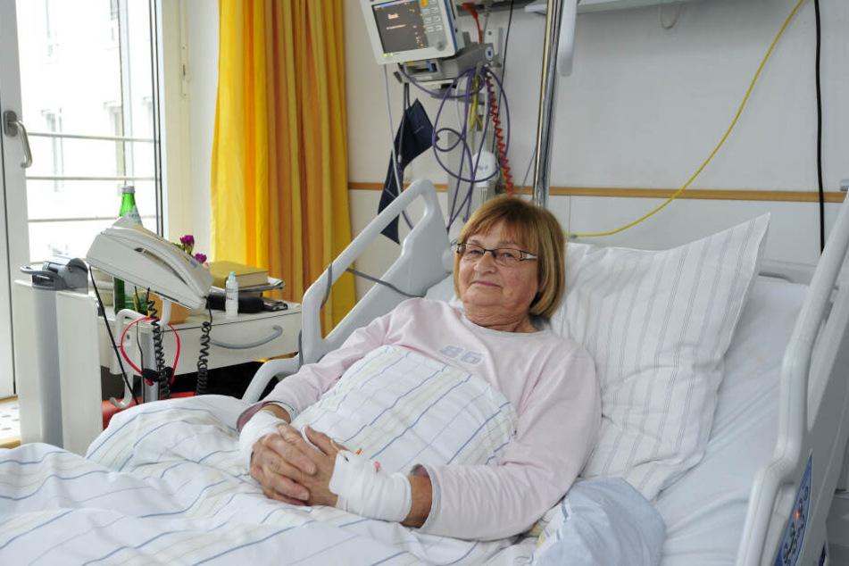 Das Opfer: Seniorin Julia C. (74) wurde mit zwei Messerstichen niedergestreckt.