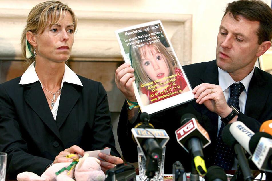 Auch Kate und Gerry McCann würden sich eine Weiterführung der finanziellen Unterstützung wünschen, haben aber auch schon einen Plan B in der Hand.