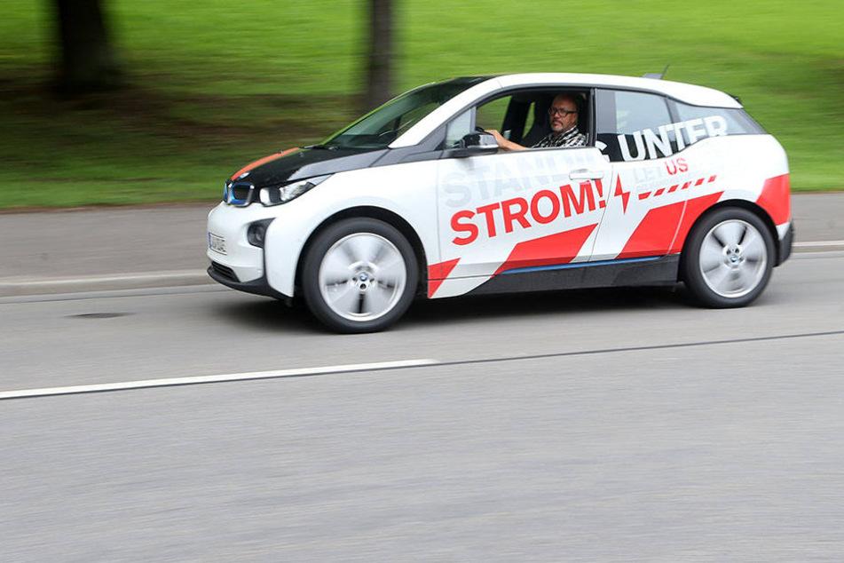Chemnitz wird elektrisiert: Mehr E-Autos, mehr Stromverbrauch