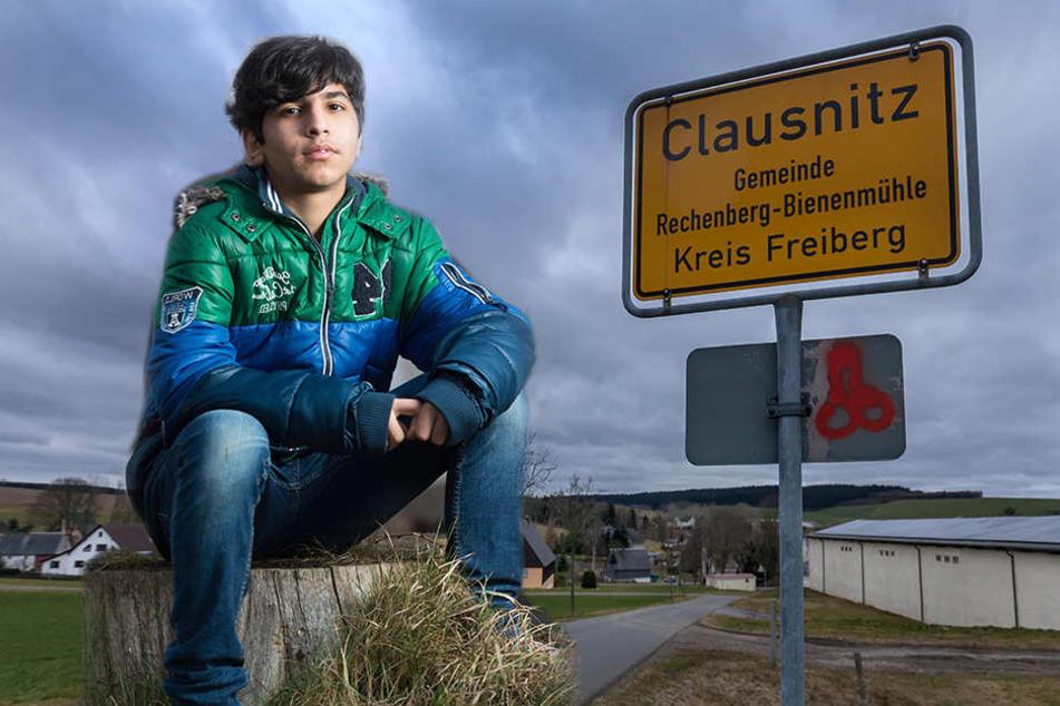 Ein Jahr danach: So geht es dem Flüchtlingsjungen aus Clausnitz