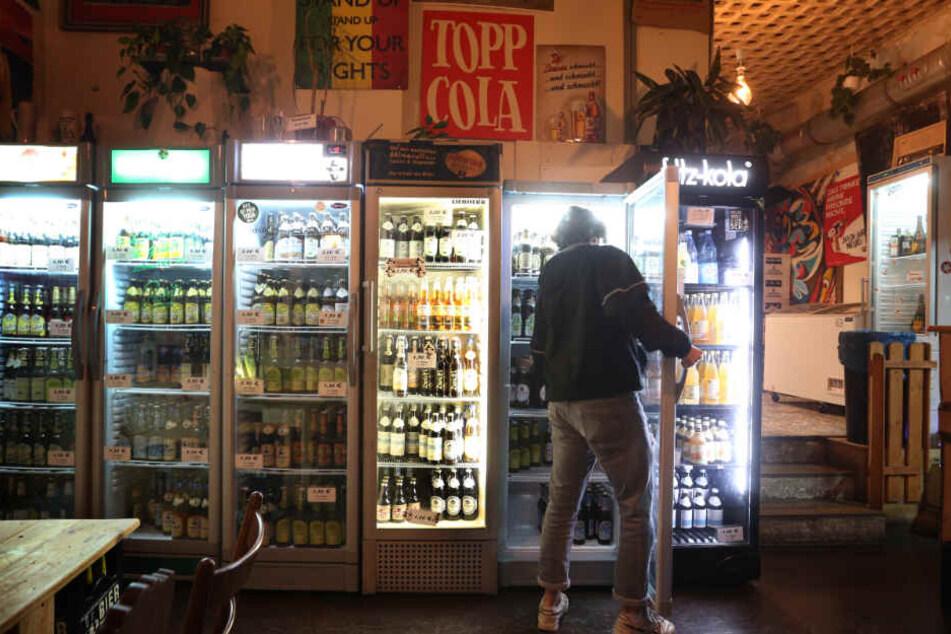 Die Qual der Wahl: Im Späti gibt's reichlich Biersorten.