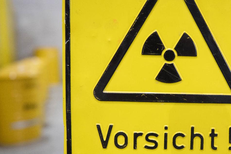 Radioaktive Abfälle sind ein gefährliches Gut (Archivbild).