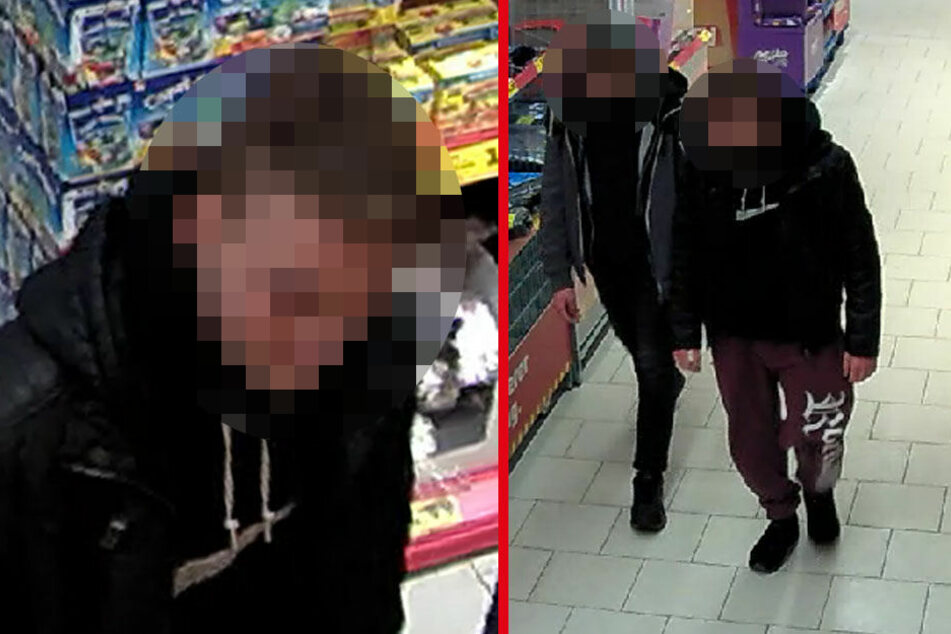 Diese zwei jungen Männer sollen ein älteres Ehepaar in Köpenick überfallen haben.