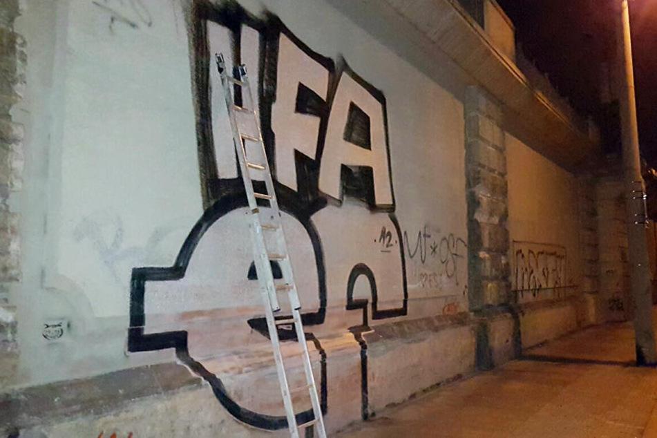 Bundespolizei schnappt Graffiti-Sprayer: Ist er ein Serientäter?