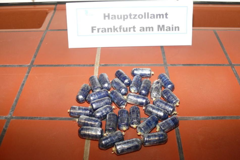 Das Hauptzollamt Frankfurt konnte über ein Kilogramm Kokain sicherstellen.
