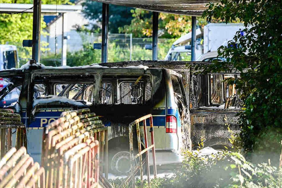 Kurz nach dem G20-Gipfel wurde der Brandanschlag verübt.