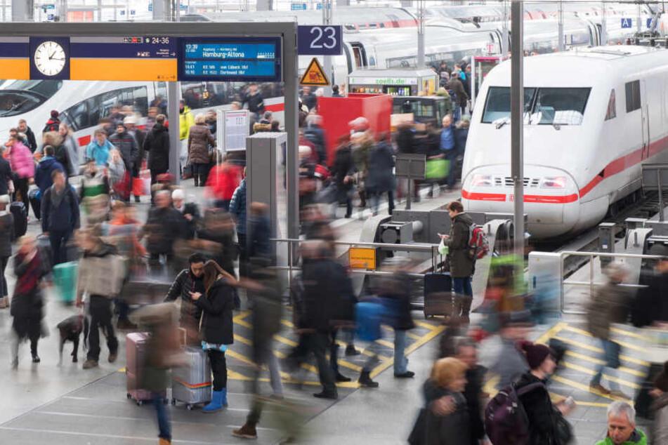 Am Münchner Hauptbahnhof wird eine besondere neue Mitarbeiterin der Deutschen Bahn gefeiert. (Archivbild)