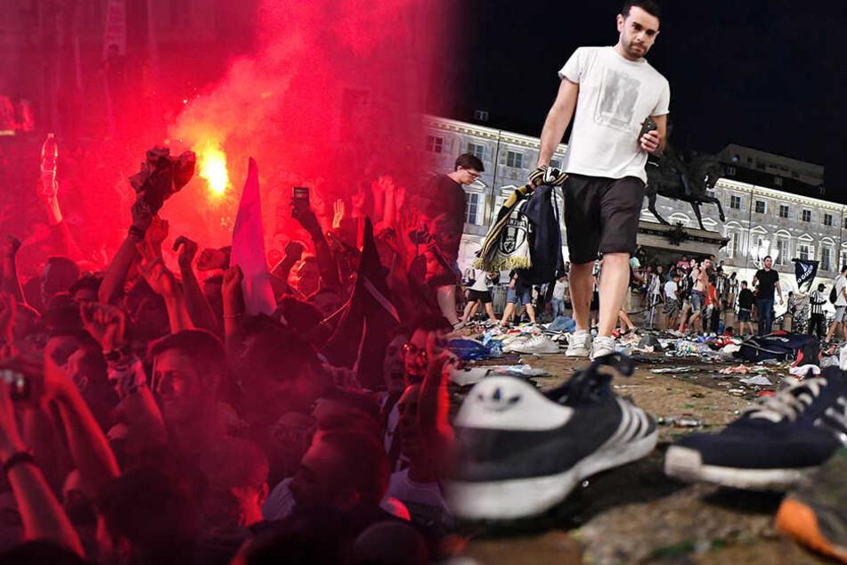 Lösten Hooligans oder ein Teenager die Massenpanik in Turin aus?
