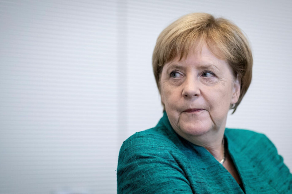 Angela Merkel ist am 16. November in Chemnitz.