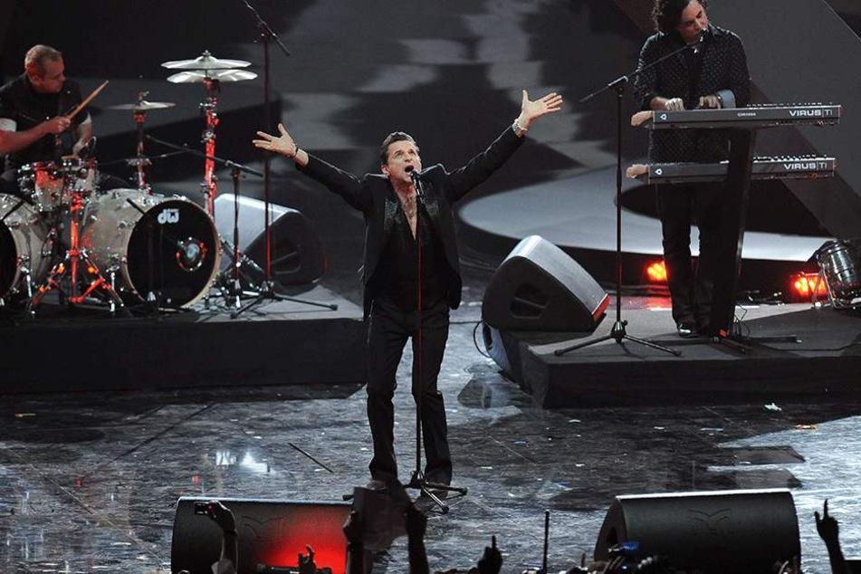 Depeche Mode gibt auf seiner Deutschlandtour ein Zusatzkonzert in Dresden.