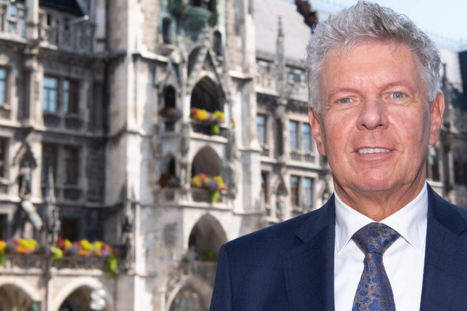 Dieter Reiter hat bei der Oberbürgermeister-Wahl laut einer Umfrage gute Chancen auf den Sieg.