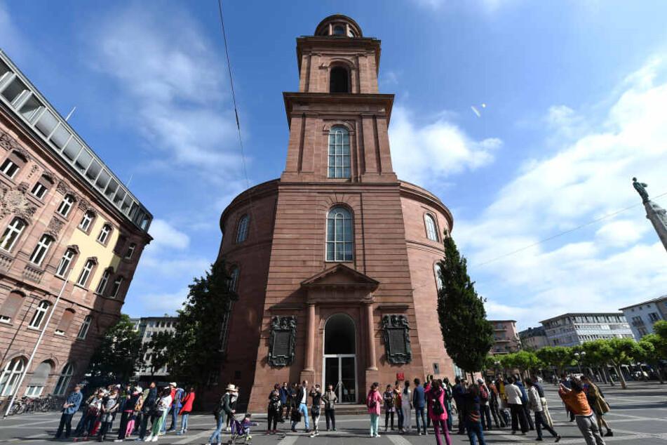 Die Paulskirche in der Mainmetropole Frankfurt.