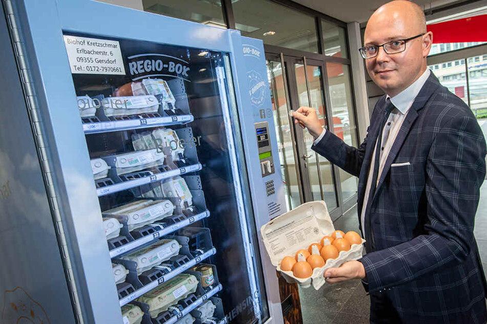 Chemnitz: Nach Mega-Run auf Bio-Eier: Sparkasse erweitert Sortiment