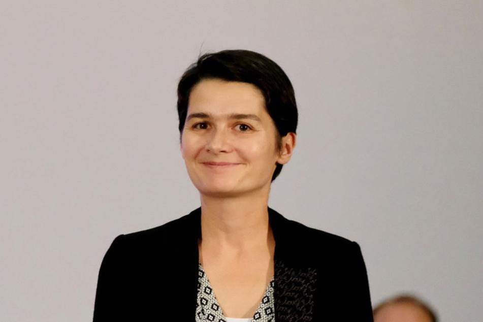 Sie sitzt für die SPD bereits im Bundestag und würde dort auch gerne bleiben: Daniela Kolbe (37).