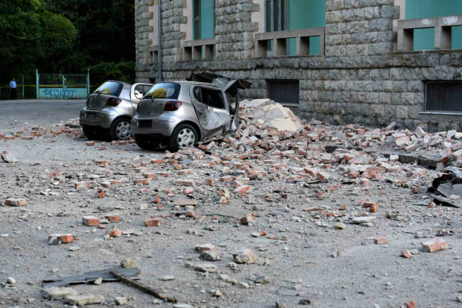 Bereits im September erschütterte ein starkes Erdbeben den Balkanstaat.
