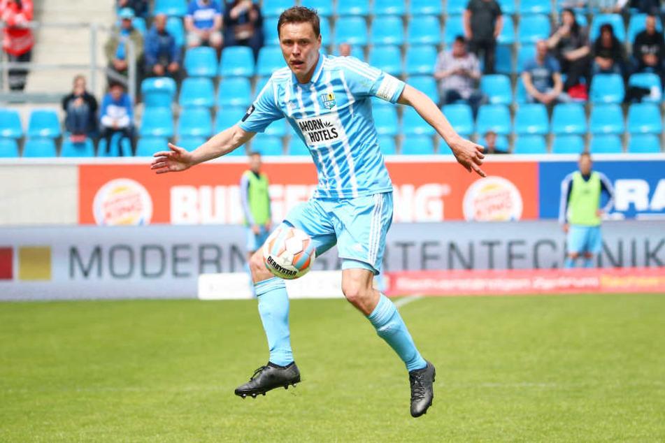 Alexander Bittroff wird kommende Saison nicht mehr das Chemnitzer Trikot tragen.