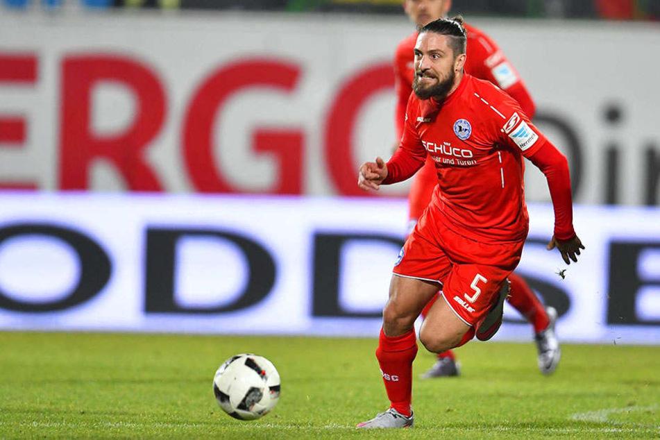 Im vergangenen Spiel gegen Greuther Fürth wurde David Ulm eingewechselt.