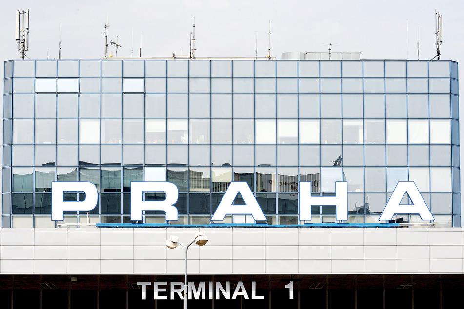 Das Terminal 1 am Václav-Havel-Flughafen in Prag.