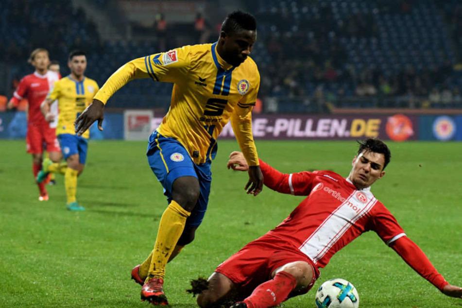 Abdullahi wird zunächst bis Saisonende ausgeliehen.