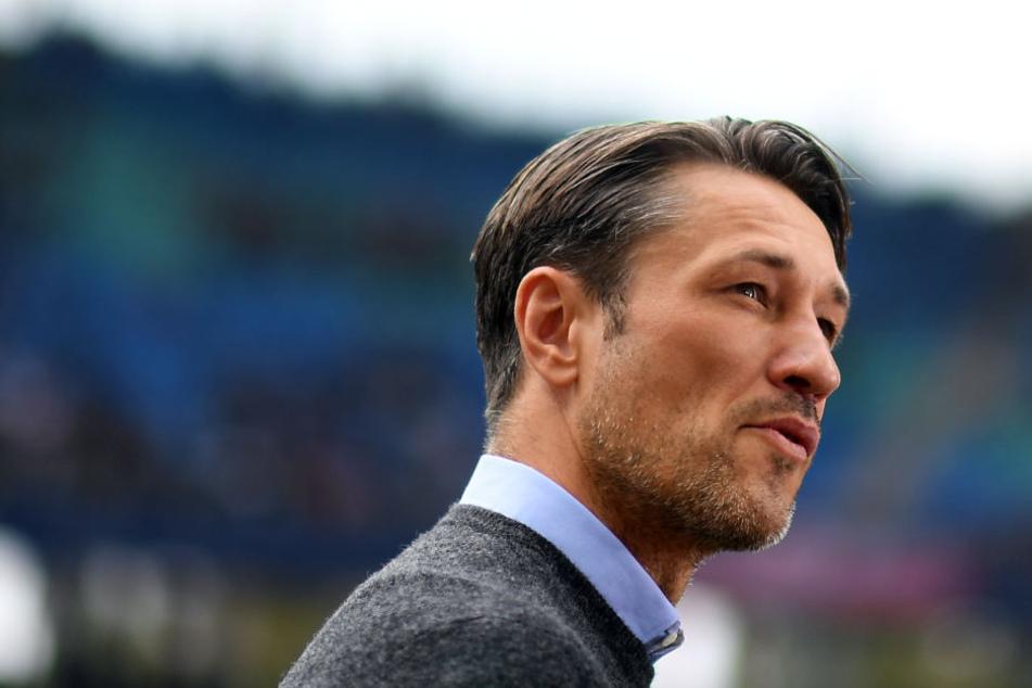 Nach dem Auftritt seiner Eintracht in Stuttgart war Coach Niko Kovac maßlos bedient.
