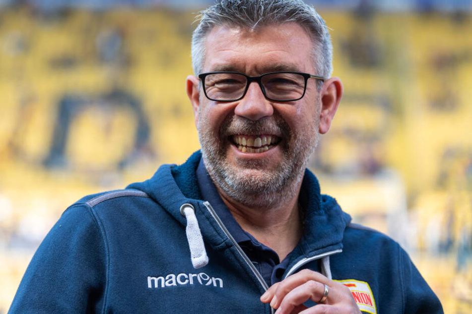 Trainer Urs Fischer will in Fürth einen kämpferische Leistung seiner Mannschaft sehen.