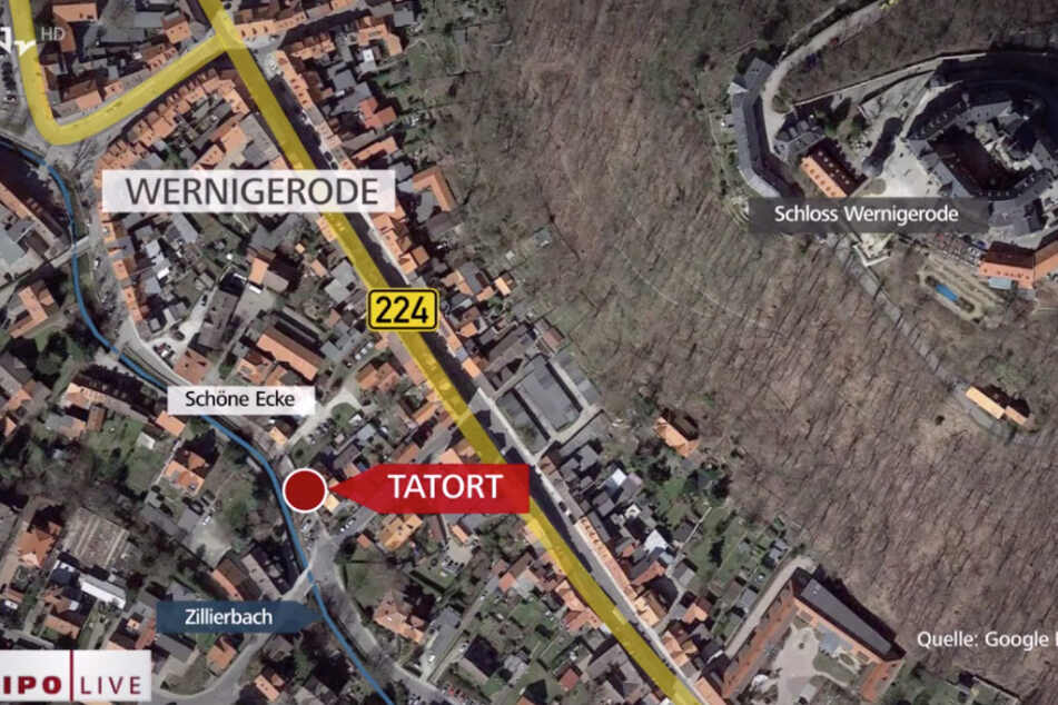 Die Polizei sucht nach den beiden Frauen, die am 26. März am Tatort waren.
