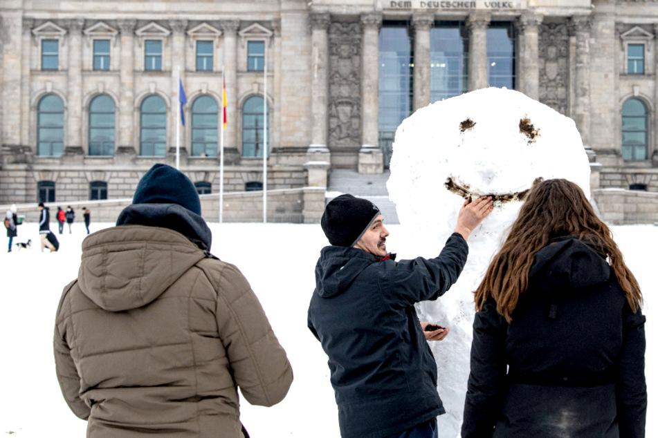 Wetter in Berlin und Brandenburg: Erst Regen, dann Schneedecke!