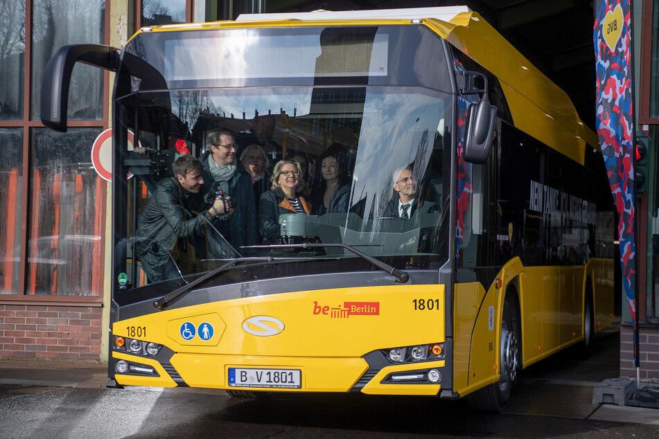 Die Elektro-Busse der BVG bekommen einen Betriebshof in Oberschöneweide.