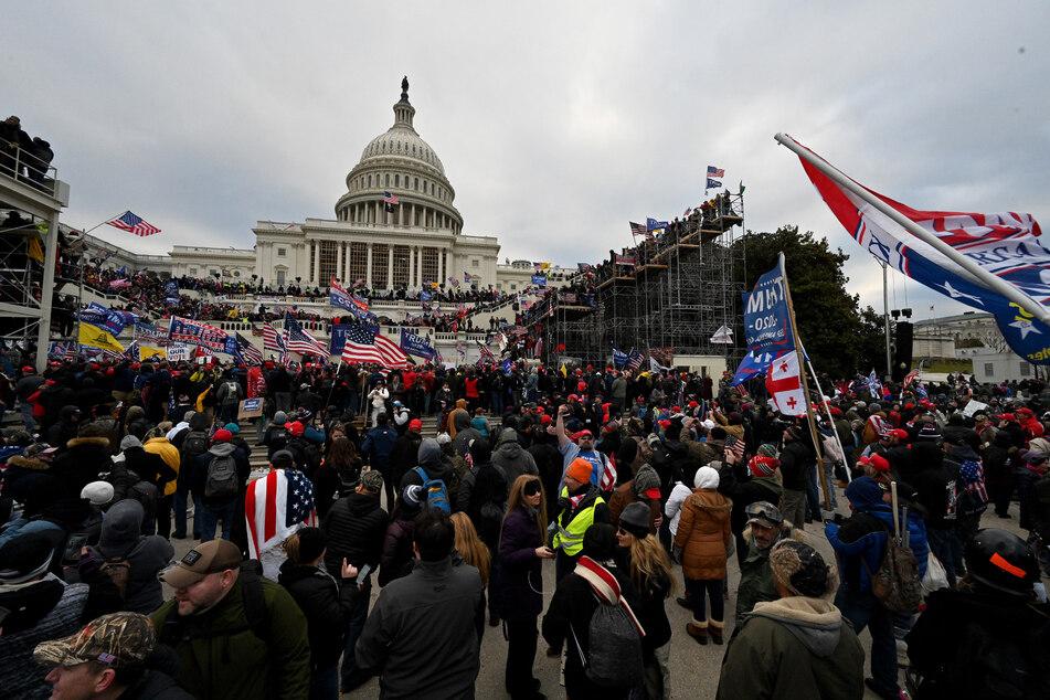 Vergangenen Mittwoch kam es vor dem US-Kapitol zu gewalttätigen Ausschreitungen.