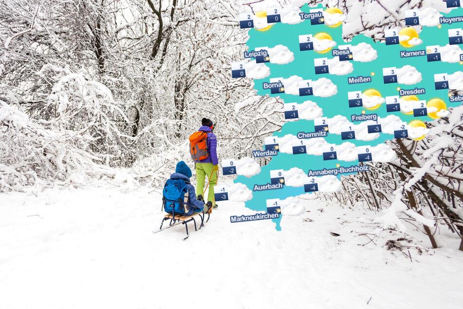 Es bleibt winterlich: Sachsen kann sich auf noch mehr Schnee freuen!